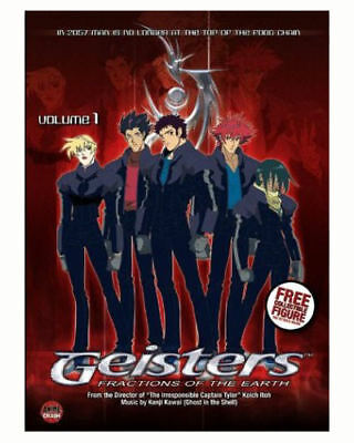 Geisters: Fractions of the Earth Vol. 1 (DVD, 2004) MOVIE VOLUME ONE Koji Itohi