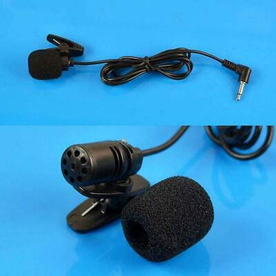 3.5mm Jack Mini Wired Clip-on Lapel Lavalier Microphone Mic For PC Laptop Speake