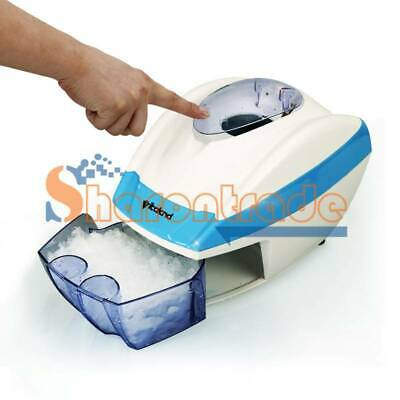 Ice Shaver Machine Snow Cone Maker Electric Automatic Slushy Shaving Crusher