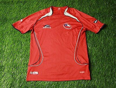 f4799f212be Chile National Team 2007 2009 Football Shirt Jersey Home Brooks Original  Size S