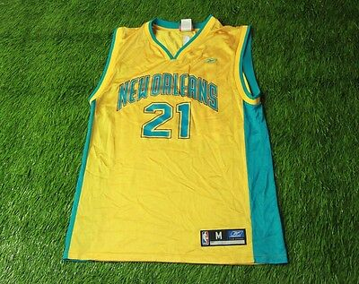 huge discount c1173 5d523 new ORLEANS HORNETS   21 MAGLOIRE BASKETBALL NBA SHIRT JERSEY REEBOK  ORIGINAL