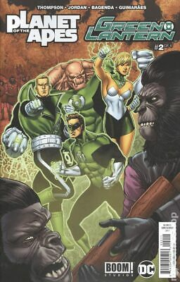 Planet of the Apes Green Lantern #2A 2017 Van Sciver FN Stock Image