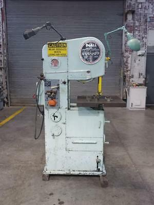 DoAll 16-2 Vertical Contouring Band saw For Metal Cutting extra guides