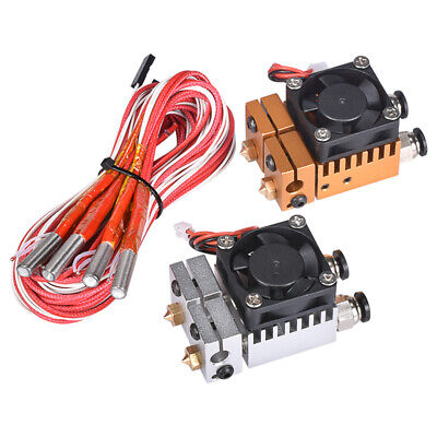 3D Chimera Hotend Kit Dual Color 2 IN 2 OUT Extruder Multi-extrusion All metal
