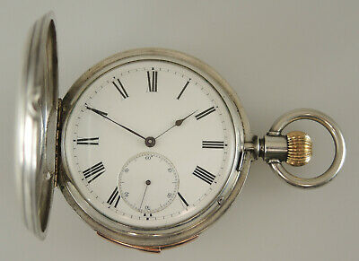 High Grade Silver 31 Jewel Quarter Repeater Watch by Pateck & Cie Circa 1890