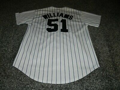 new arrival 511d4 d7fc6 VINTAGE NEW YORK YANKEES #51 BERNIE WILLIAMS MLB JERSEY in SIZE MEDIUM