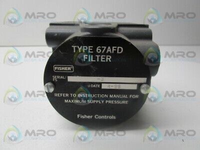 Fisher Type 67Afd * Used *