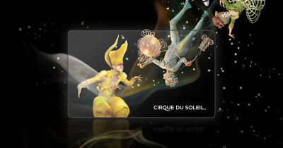 Gift card Cirque Du Soleil 200$ (fast email delivery)