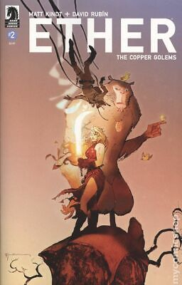 Ether The Copper Golems (Dark Horse) #2B 2018 Sienkiewicz NM Stock Image