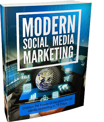 Modern Social Media Marketing eBook PDF with Full Master Resell Rights