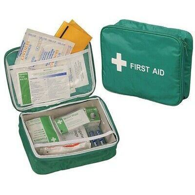 Vehicle First Aid Kit in Nylon Case Safety First Aid K366T