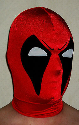 Spandex Deathstroke Mask Mexican wrestling fancy dress Halloween Adult Child/'s