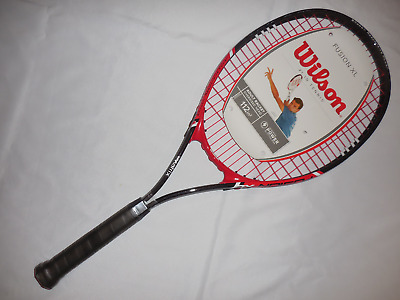Wilson FUSION XL V Matrix Oversized 112in Head Tennis Racket 4-3/8 Grip