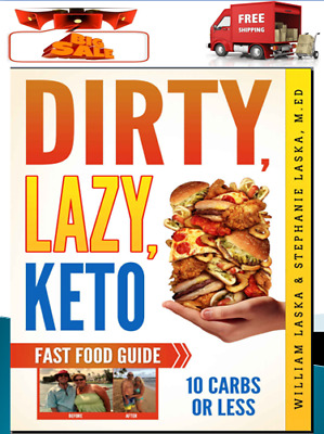 "Keto Cookbook Lazy Keto Fast Food ""Ebuk"" - FAST Delivery"