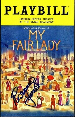 Theater My Fair Lady Cast Signed Playbill