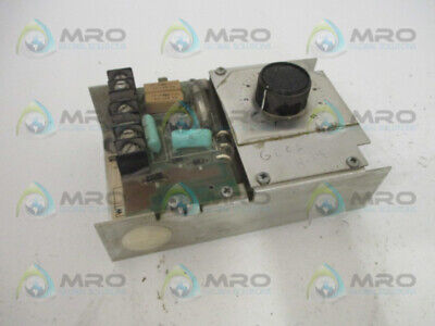 Warner Electric Mcs-103 Adjustable Torque Controller (As Pictured) * Used *