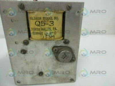 Deltron Q5-3 Power Supply * Used *
