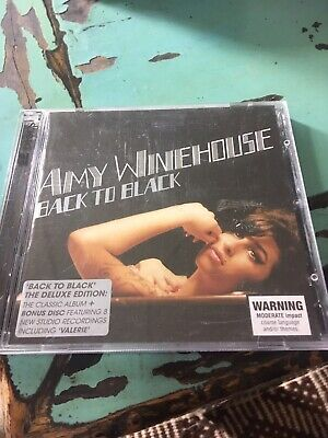 Amy Winehouse Back To Black Deluxe Edition 2cd
