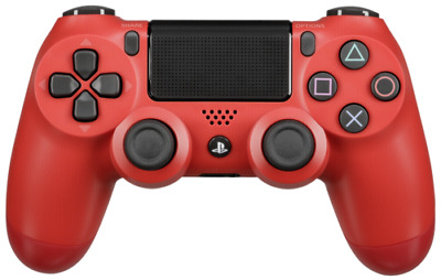 Sony Playstation PS4 Controller Dual Shock wireless red V2 NEU
