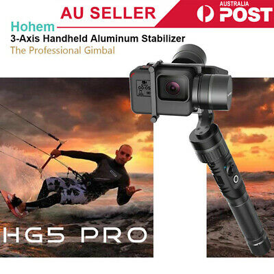 hohem HG5 PRO 3-Axis Handheld Stabilizing Gimbal for GoPro Hero 7/6/5/4/3 Cam