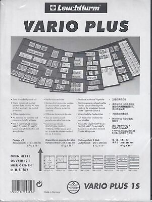 5 Lighthouse Vario Plus 1 Pocket  Black  Pages