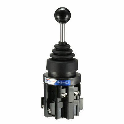 4 Directions Latching Monolever Joystick Switch Black