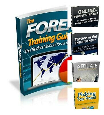 Ebook Forex training guide + 4 ebooks E- book Business marketing PDF Free ship