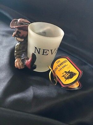 Cowboy Nevada State Bar Shot Glass Collectible Barware Shotglass Lost Woodsman