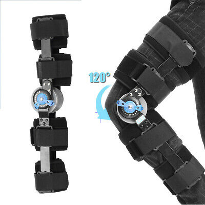 Universal Medical Op Knee Brace Adjustable Hinged Leg Patella Support Protection