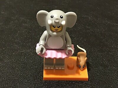 COLLECTABLE LEGO Minifigure KEYCHAIN Girl in Elephant Costume #853905 NEW