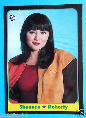 figurines cromos figurine masters cards 98 1993 shannen doherty beverly hills gq
