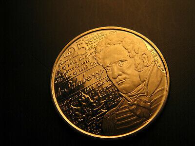 Canada 2013 De Salaberry 1812 War Hero 25 Cent Mint Grade Coin