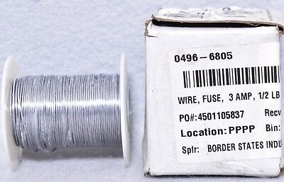 BFW-3 Cooper Bussman 3 Amp Fuse Wire