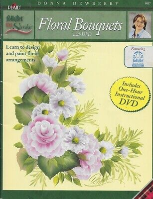 Time Pieces Florals Plaid One Stroke Donna Dewberry Brushes Paint Lesson Box Buy One Get One Free Crafts Art Supplies