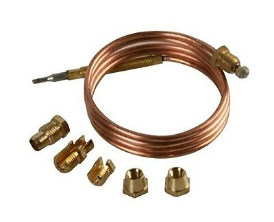 UNIVERSAL Thermocouple Kit 1500mm & Fixings Gas Boiler Oven Cooker Grill