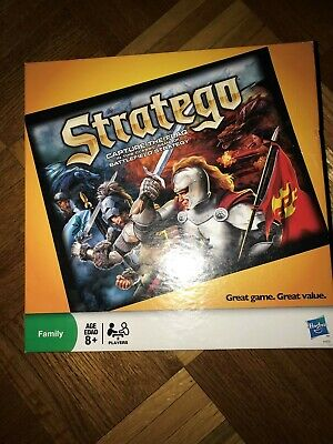 Vintage Stratego Board Game Hasbro (Barely Used) (Shows no sign of use)
