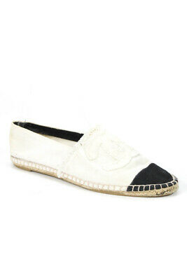 775d2001ec8 AUTHENTIC CHANEL STRIATED Suede Espadrilles 39 - Worn Once - 5 Days ...