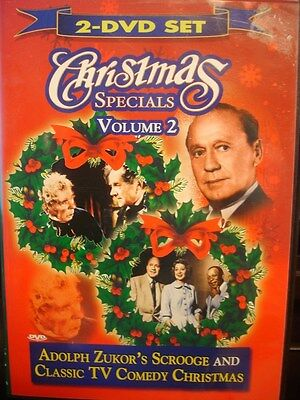Christmas Specials Volume 2 (DVD) Scrooge & Classic TV Comedy Christmas