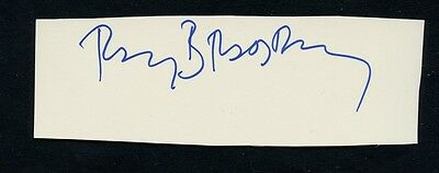 Science Fiction Master RAY BRADBURY Autograph