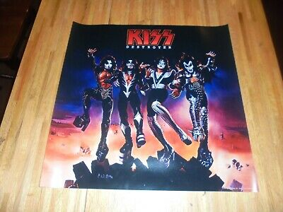 KISS : Destroyer LP Cover Poster 24 X 24  AWESOME!!