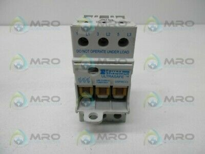 Ferraz Shawmut Q302763 Fuse Holder * Used *