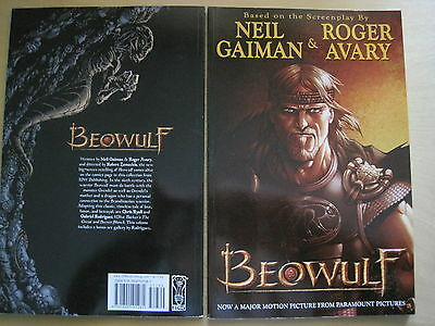 BEOWULF : NEW TRADE PAPERBACK of the MOVIE by NEIL GAIMAN, ROGER AVARY.RODRIGUEZ