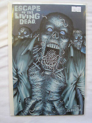 ESCAPE of the LIVING DEAD 1 THEY LIVE COVER by WOLFER, RUSSO & VERMA.AVATAR 2005