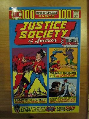 JUSTICE SOCIETY  of AMERICA 100 PAGE GIANT ONE-SHOT.3 STORIES.1975 REPRO.DC 2000