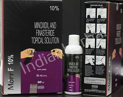 Morr F 10% Hair Regrowth DHT blocker FDA approved 60ml