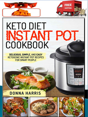 Keto Diet Instant Pot CookBook Delicious Eb00k/PDF-FAST Delivery