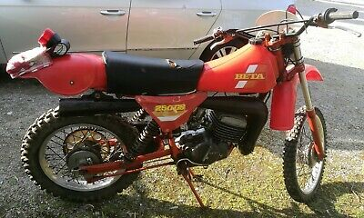 Beta 250 Gs,1980,Cross E Regolarita D'epoca