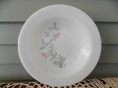 Vintage Federal Glass Pink Clover Blossom Soup Bowl