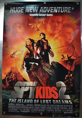 Spy Kids 2 Island Of Lost Dreams Original DS One Sheet Movie Poster 2002 27 x 40