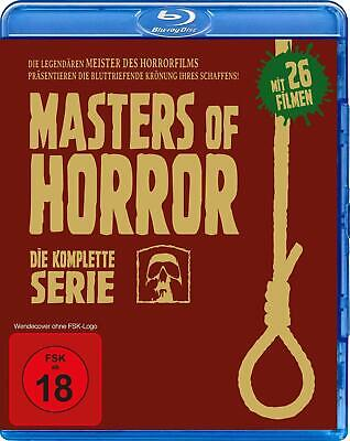Masters of Horror Complete Season 1+2 (26 Films) blu-ray Region B New Sealed